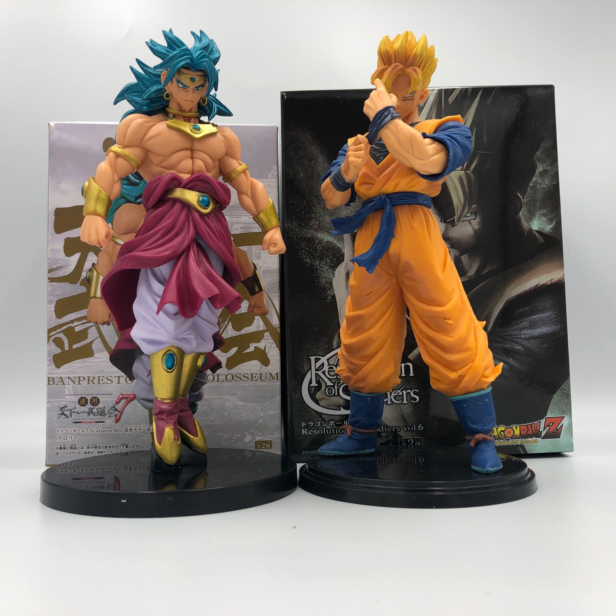21 cm Brolly Dragon Ball Z Broly Gohan Toy Figure Super Saiyan Anime DBZ Tenkaichi Budokai Toy Collectible MX191105
