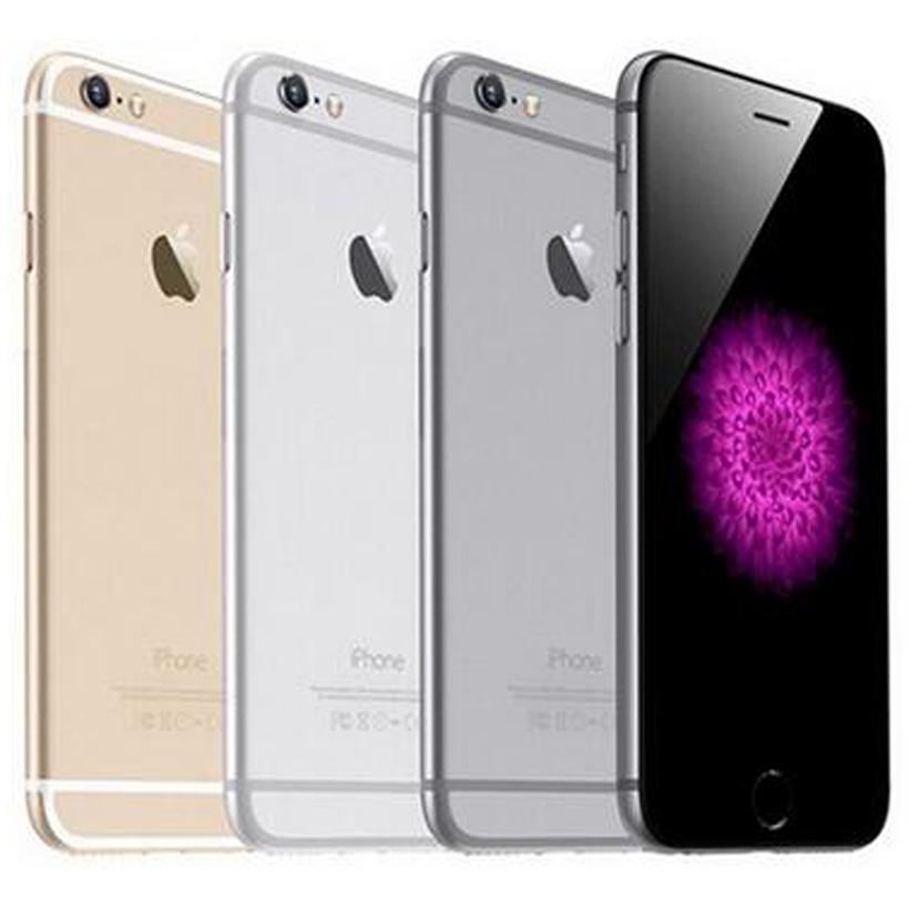 Recuperado Original da Apple iPhone 6 com impressão digital 4,7 polegadas A8 Chipset 1GB de RAM 16/64 / 128GB ROM IOS 8.0MP Desbloqueado LTE 4G 10pcs Telefone DHL