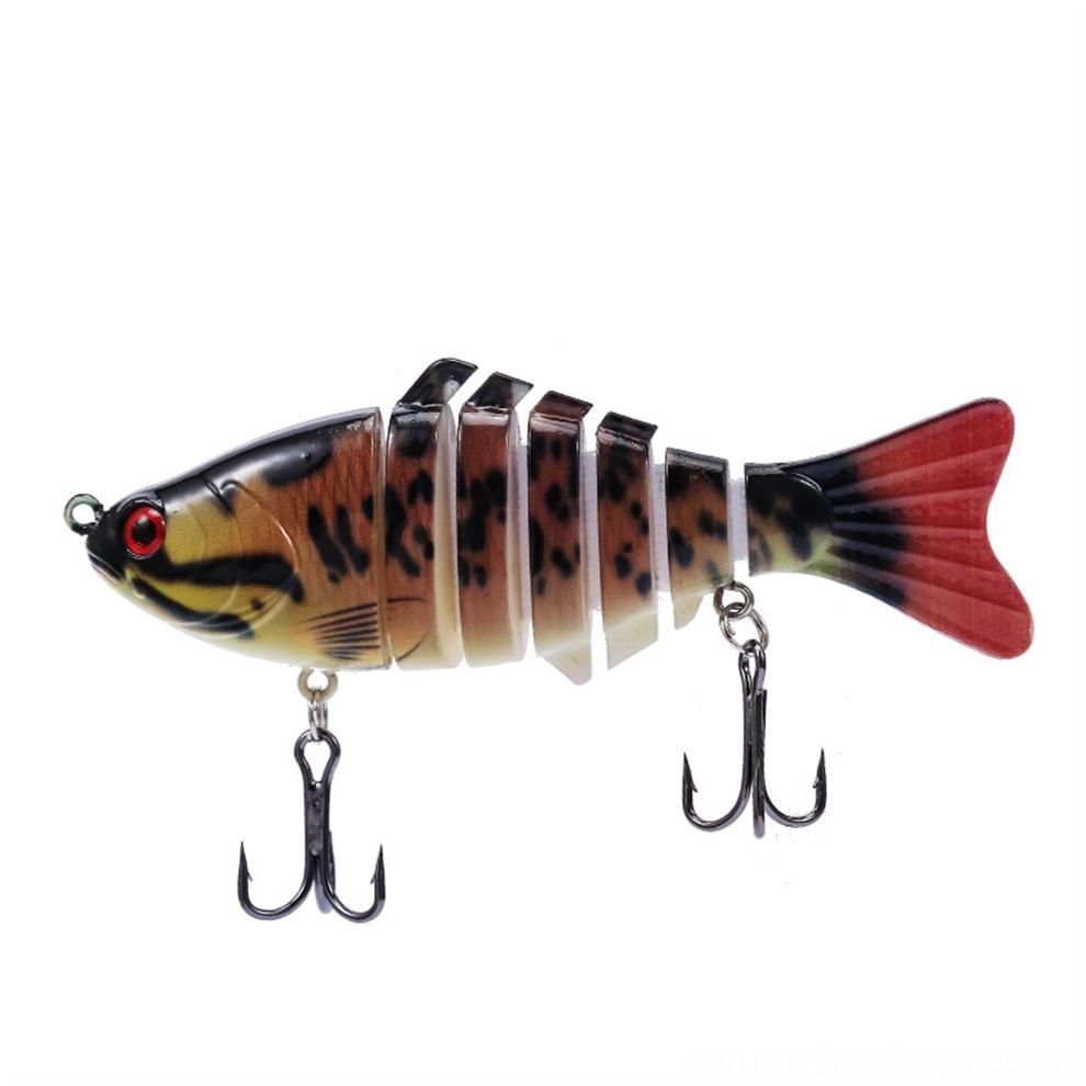 gGEq3 Pesca Luya mano morbida esche da pesca 10cm * simulazione 15.5g pesce morbido esca bionic