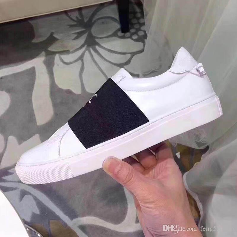 Scarpe casual bianche Donne Viaggio 100% Pelle Lace-Up Sneaker Fashion Lady Designer Running Trainers Letters Donna Scarpa Stampata piatta da uomo Gym Sneakers Dimensioni 35-45 con scatola