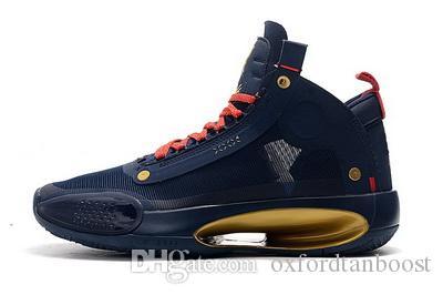 Uomini 34 XXXIV Sion Williamson Pellicani scarpe da basket di moda 34s Blu Void Bred Eclipse leopardo ambra Sport Sneakers 40-46