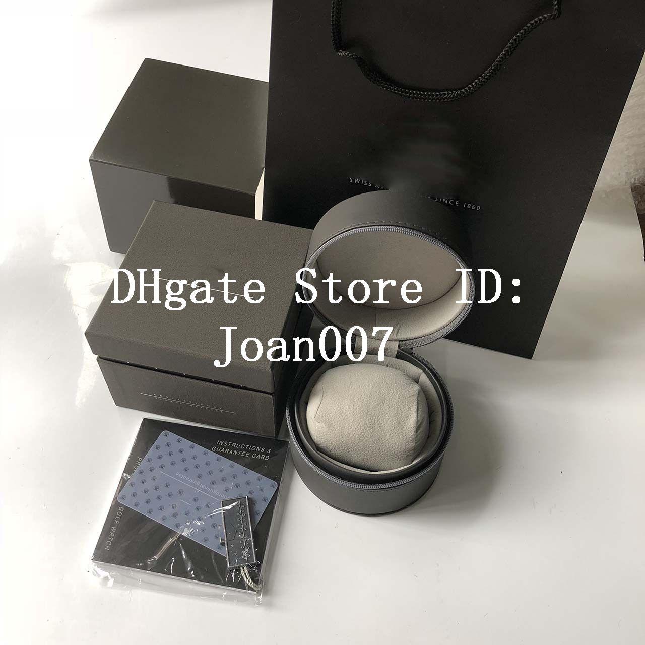 Commerce de gros de la haute qualité TAG Coffret Montre Boxs Fashion Casual cuir écrins de montre Montres Boîte à bijoux boîte-cadeau