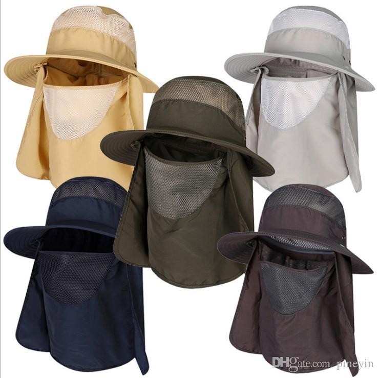 Outdoor hat M//Summer hat Visor//UV Sun hat Men//Korean Fishing hat Mountaineering