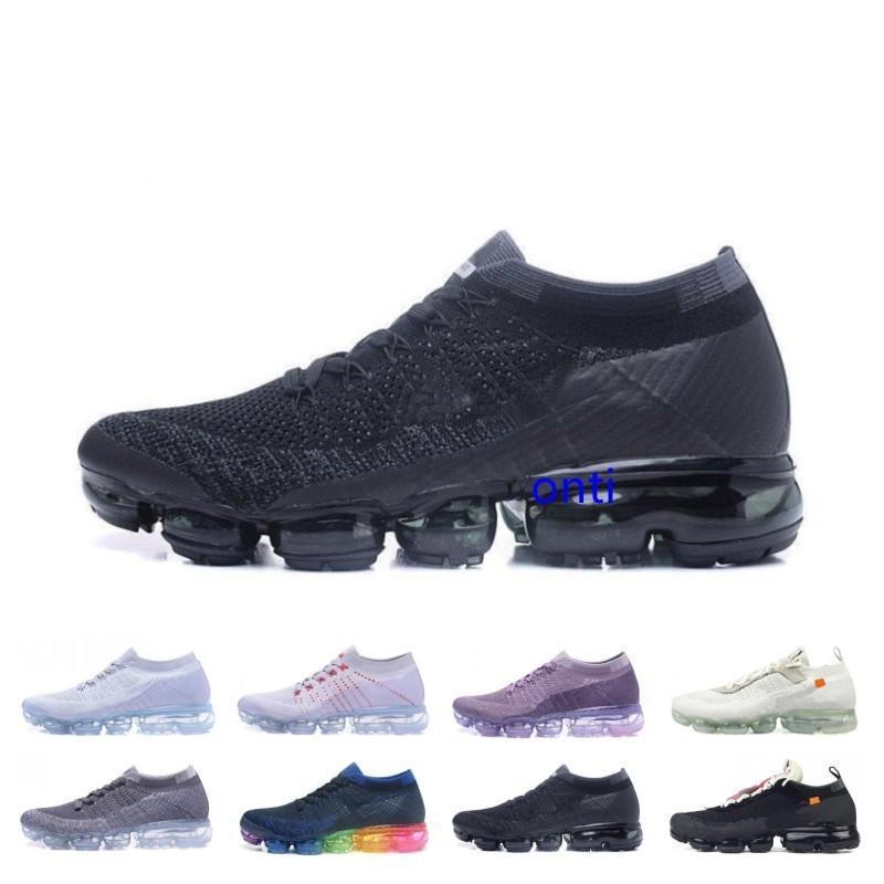 Erkekler Ve Kadınlar Boyutu 36-45 Siyah Beyaz İçin Ucuz Satılık Yaz Yeni Stil Fly 2.0 Koşu Ayakkabı