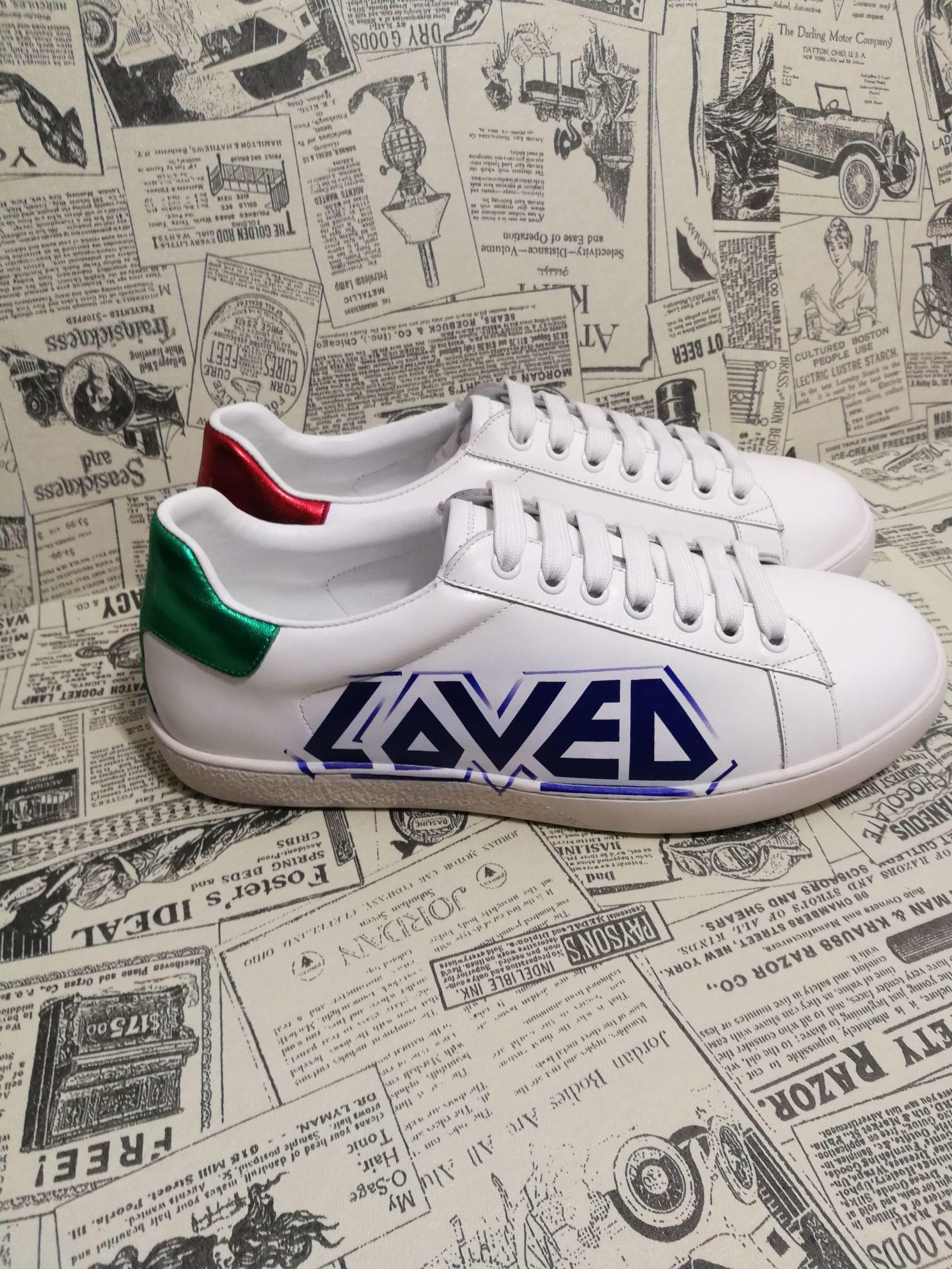 Frauen Art und Weise PU-Leder-Turnschuh weiche Schuhe Weiß neue Low Top-Plattform Schuhe beiläufige Freizeit-Männer zapatos de hombre Street
