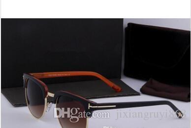 Nouvelle arrivée lunettes de soleil pour hommes femmes marque Designer classique lunettes de soleil miroir UV400 lentille Lunettes de conduite avec la caisse et la boîte au détail