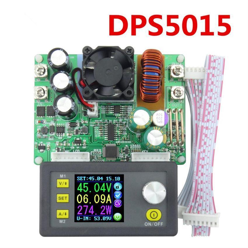 Freeshipping Dijital Programlanabilir Adım-aşağı Güç Kaynağı Modülü Gerilim Ampermetre DPS5015 Ayarlanabilir Ücretsiz Kargo 12002042