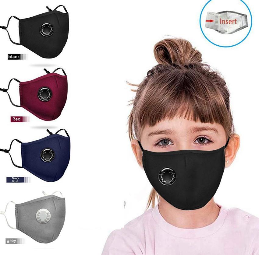 قناع القطن الطفل قابل للغسل قابلة لإعادة الاستخدام ويمكن استخدام الساعة 2.5 فلتر لوحة الاطفال قابل للغسل الوجه قناع LJJK2369