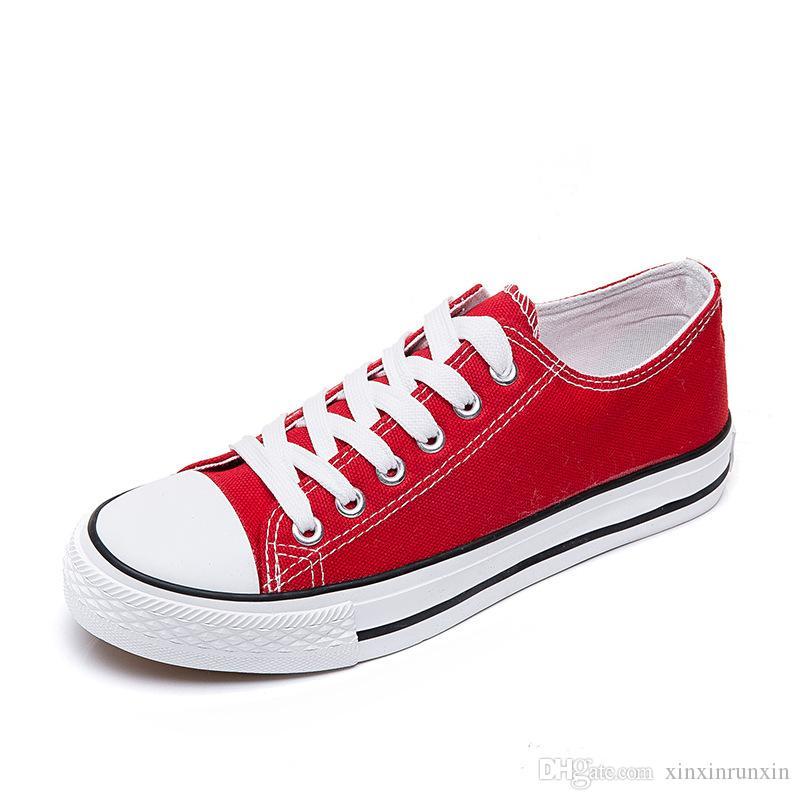 Women And Men Unisex Flat Canvas Shoes