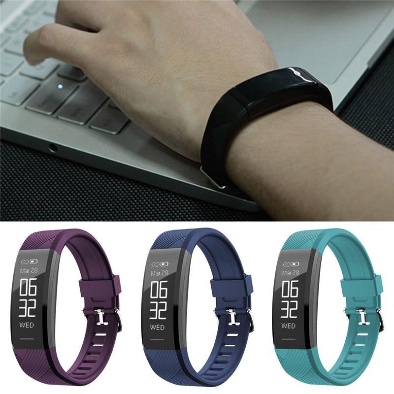 C11 Pulsmesser Smart Armband Fitness Tracker Smart Uhr Anti Verloren Wasserdichte Smart Armbanduhr Für iPhone Android Uhr PK DZ09