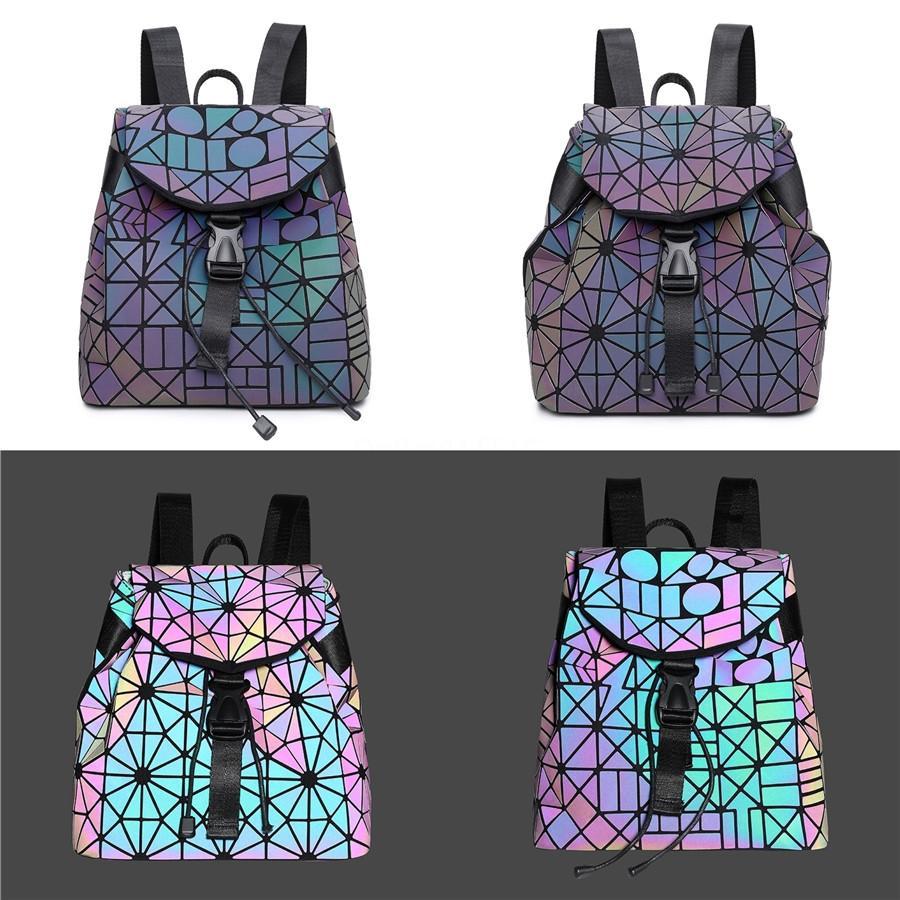 2020 Кожа кольцо ручки сумки женщин Роскошная мини сумка цепи лазера мешки плеча конструктора Ковши Red # 273