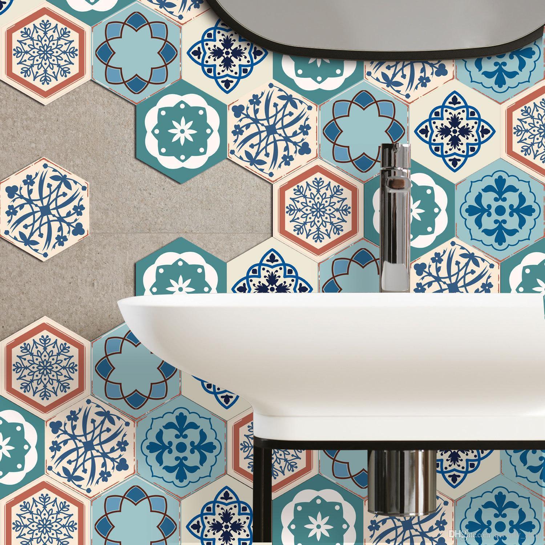 Plancher autoadhésif imperméable couture ligne Tuile Autocollant en céramique décoration de bande