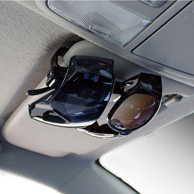 Universal Car Auto Sun Visor Clip Holder para óculos de leitura óculos de sol óculos Cartão Pen Sunglass Clipe