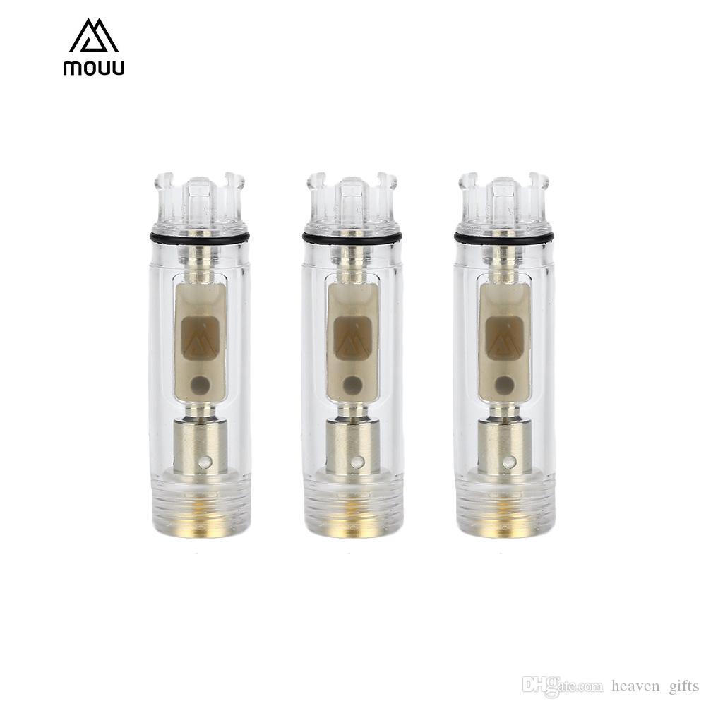 3pcs MOUU Cliq Pod Cartucho 1.4ml para MOUU Cliq Pod System Vape Kit recargable 1.4ml Tanque 1.4ohm vape bobina de cerámica