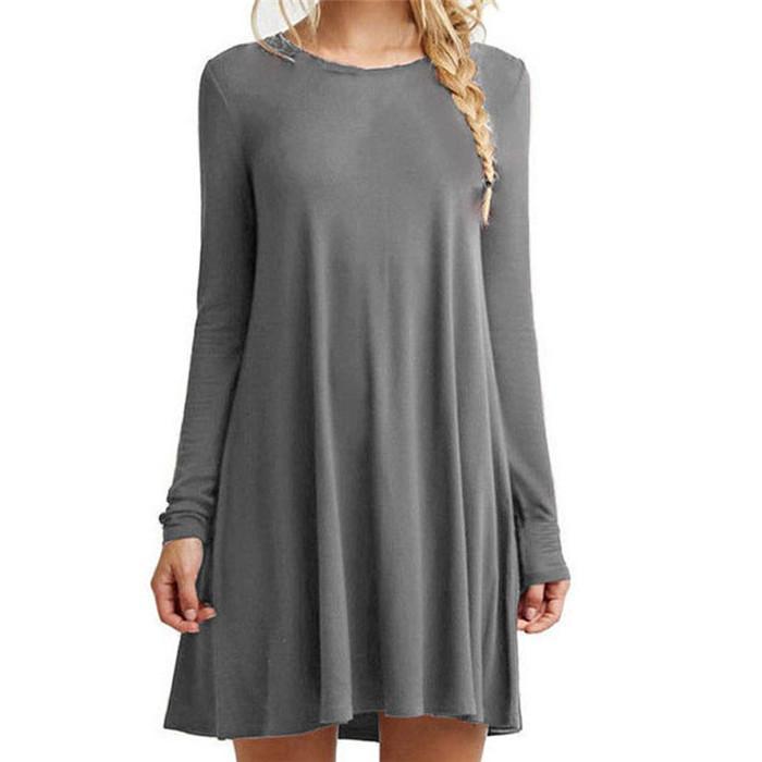 Лето осень вокруг шеи длинные с короткими рукавами платье Черно-белые полосатые платья Повседневный Элегантный чехол Тонкий платье Kd4