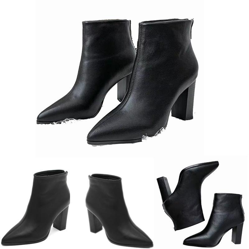 2019 أحذية المرأة مثير أحذية خريف وشتاء مارتن مطاطا التريكو فاخر مصمم أحذية جوارب قصيرة أحذية كبيرة الحجم 35-39 أحذية الكعوب العالية