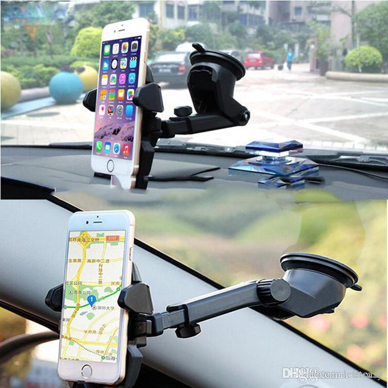 Super Retractable Windshield Dashboard Car Phone Stand Holder TH0270