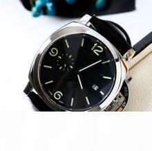 2020 Sıcak tasarımcı mens saatler lüks saat kuvars hareketi izle montre de luxe meşhur adamı Kol saatı deri kayış Mekanik Saatler