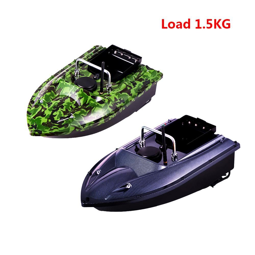 500 м беспроводной RC лодка рыбоискатель судно автомобиль радиоуправляемый Distacne рыбацкие лодки на катере пульт дистанционного управления приманки лодка игрушки EU США Великобритании зарядное устройство Y200317