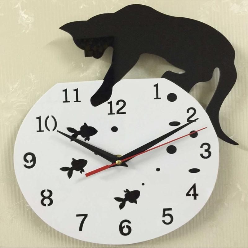 2019 Özel Teklif Duvar Saati Kuvars İzle Akrilik Ayna Saatler Çıkartma Diy Reloj Pared Salon Avrupa İğne Natürmort Duvar Saatleri