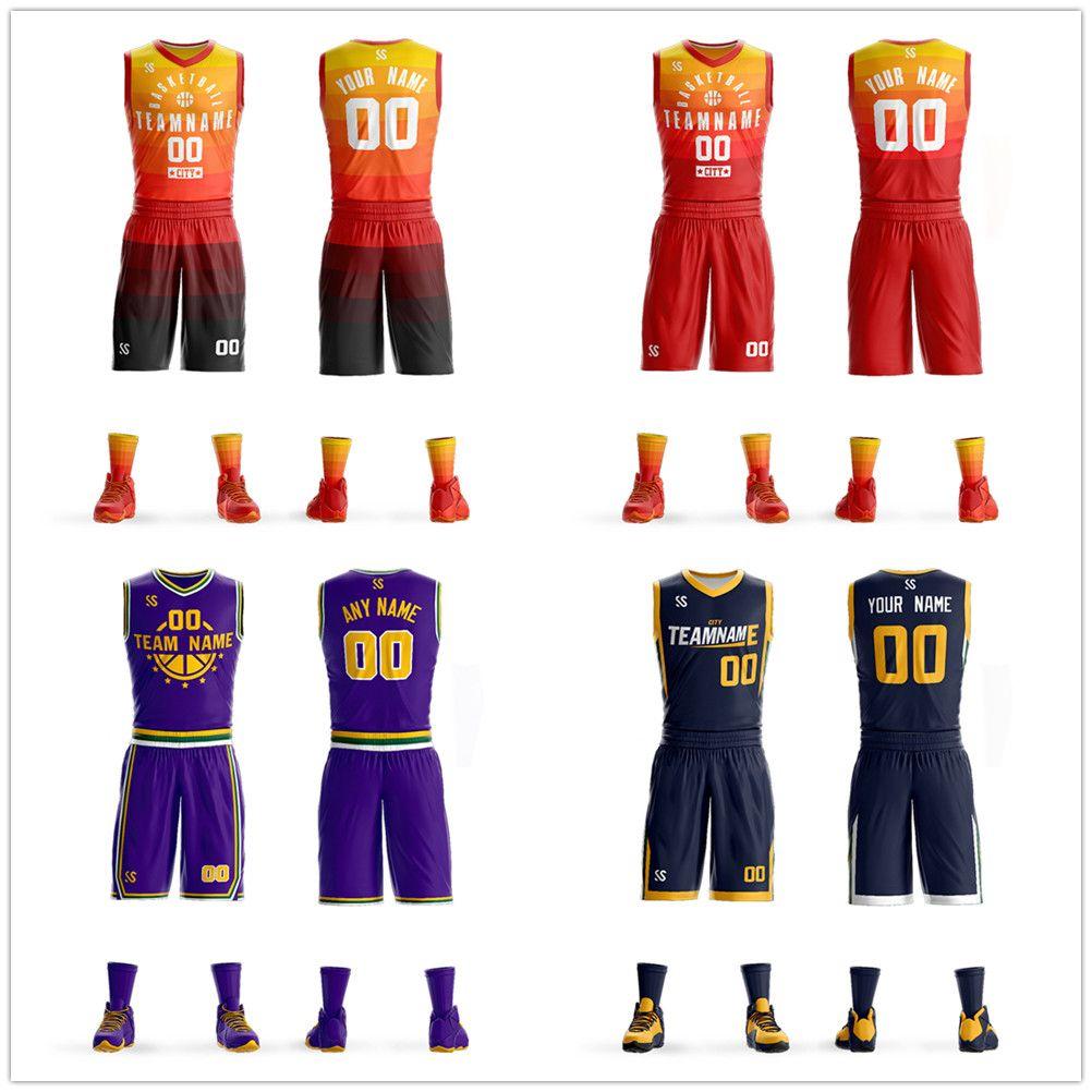 Customized mens squadra di basket maglie Donovan Mitchell Derrick Favors consegna maglia disegno uniforme uomo logo traspirante on line