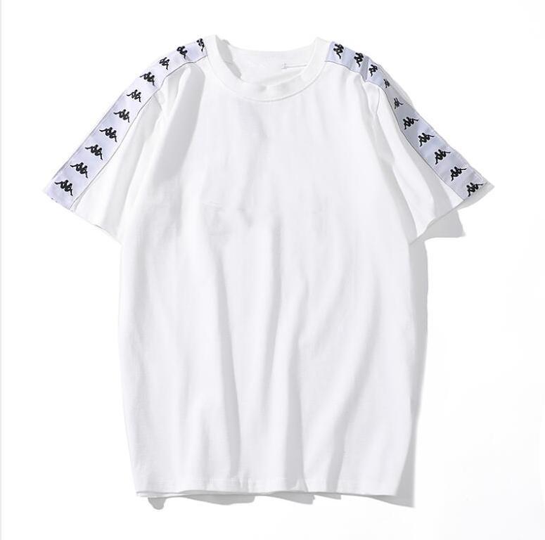 2020 Марки конструктора Mens T Shirts мода Роскошные футболки с Letters дышащего Crew Neck Tee Мужских рубашек с коротким рукавом Одежда M-2XL3