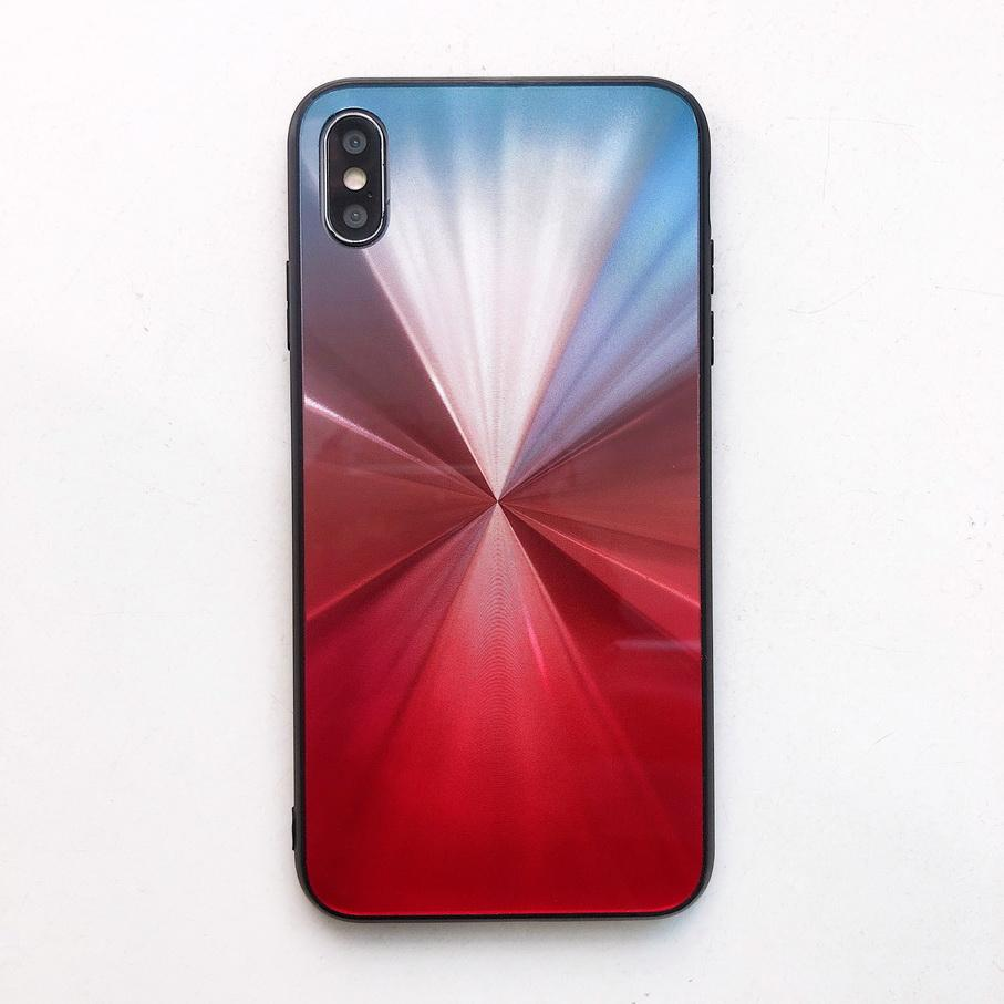 Brand New Gradient CD Style Phone Case For iPhoneXs max Xr 8Plus 6s Plus Mobile Phone Case 5 Colors TPU+PC Drop Shipping