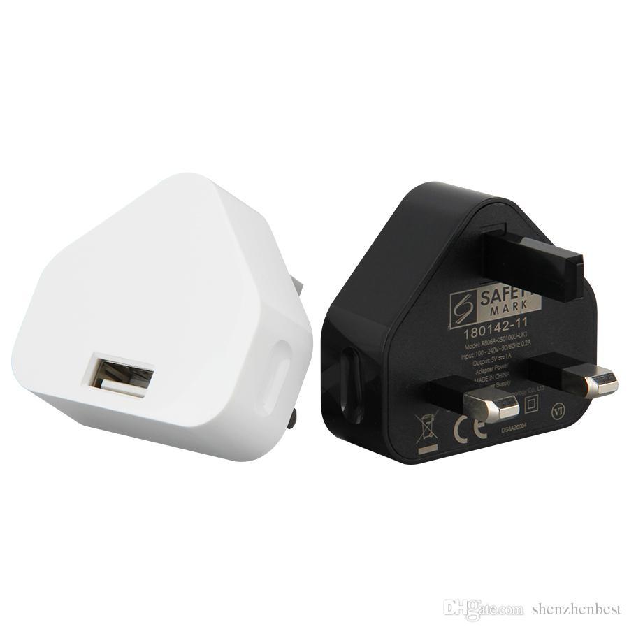 5V 1A UK-Stecker USB-Ladegerät-Adapter für Smartphone HTC LG Samsung Android Tablet PC