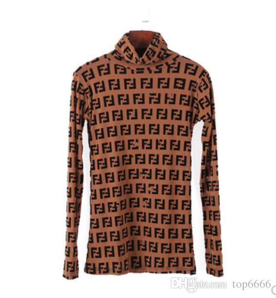 النساء قميص أزياء العلامة التجارية الكلاسيكية الساخنة اعتصامات السيدات مثير إلكتروني طباعة لينة تمتد ضئيلة عالية الرقبة شبكة أعلى بلوزة الأعمال OL