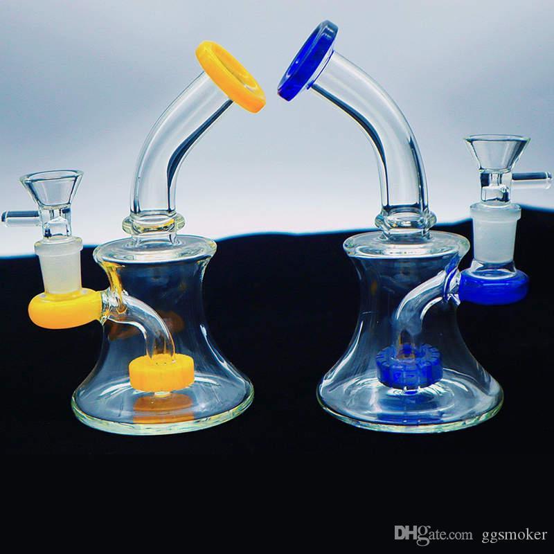 prodotti promozionali pyrex becher bong erogatore acqua bong olio rig riciclatore bong filtro doppio dab rig