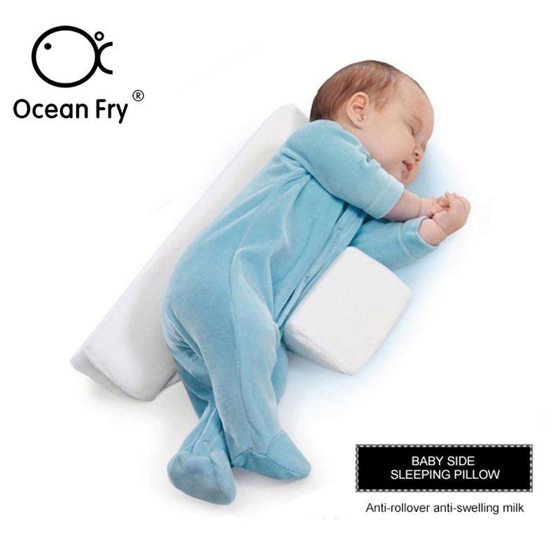 Baby Bedding Care Newborn Pillow Adjustable Memory Foam Support Infant Sleep Positioner Prevent Flat Head Shape Anti Roll Pillow CX2006012
