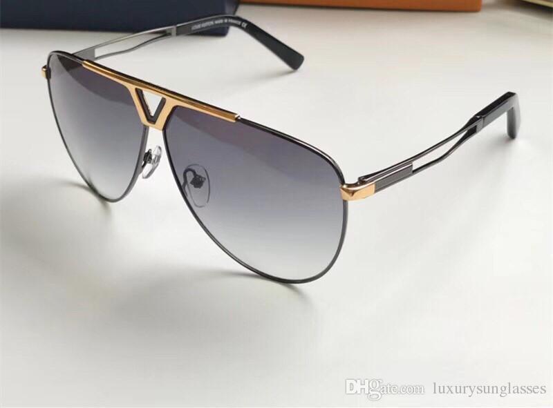 Güneş gözlüğü için Unisex Moda Oval tasarım UV Koruma Lens Kaplama Ayna Objektif Rengi Kaplama Çerçeve Paketi ile gel Lüks 2314