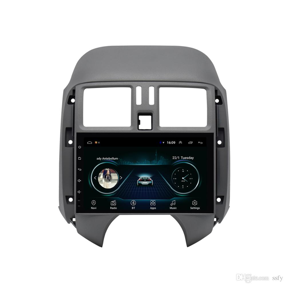 Android car GPS with Resolution HD 1024 * 600 excellent microphone bluetooth lossless mp3 mp4 music fast delivery for Nissan sunny 9inch