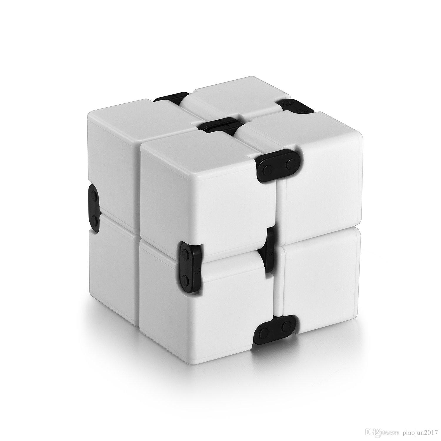 Infinite Cube Stress Relief Toy Relax Magic Cube for Adult Children Black