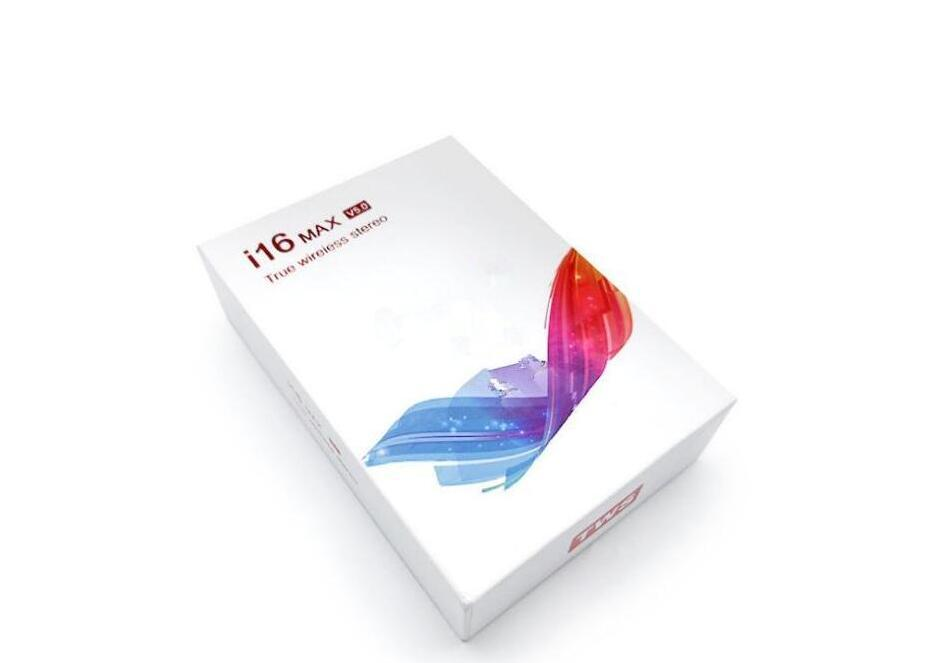 2020 - 새로운 I16 MAX TWS 블루투스 5.0 이어폰 진정한 무선 이어폰 스테레오 음악 터치 제어 자동 페어링 바 이노 럴 통화