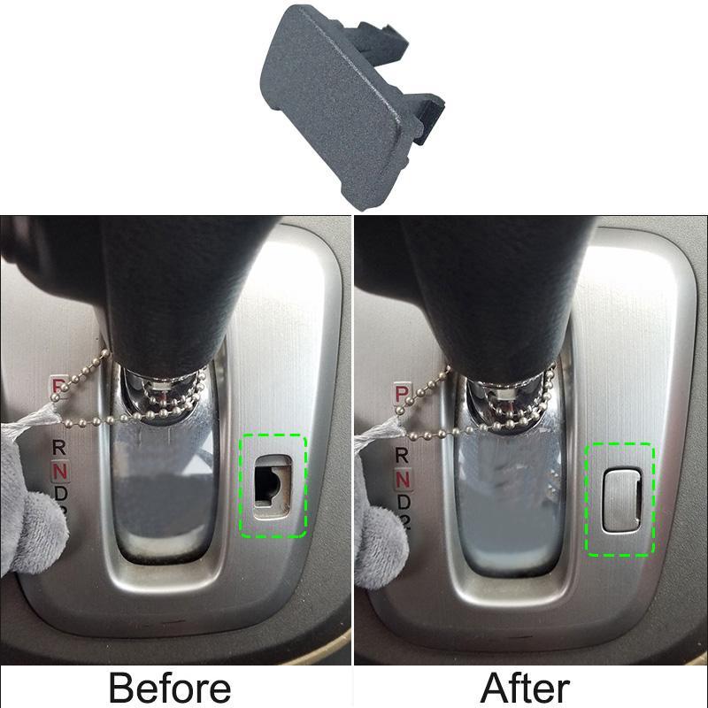 يغطي أسود / فضي لوحة جير بطاقة إفتح سيارة بوكلي لهوندا CRV CRV 2007-2016 AT السيارات إكسسوارات السيارات-التصميم
