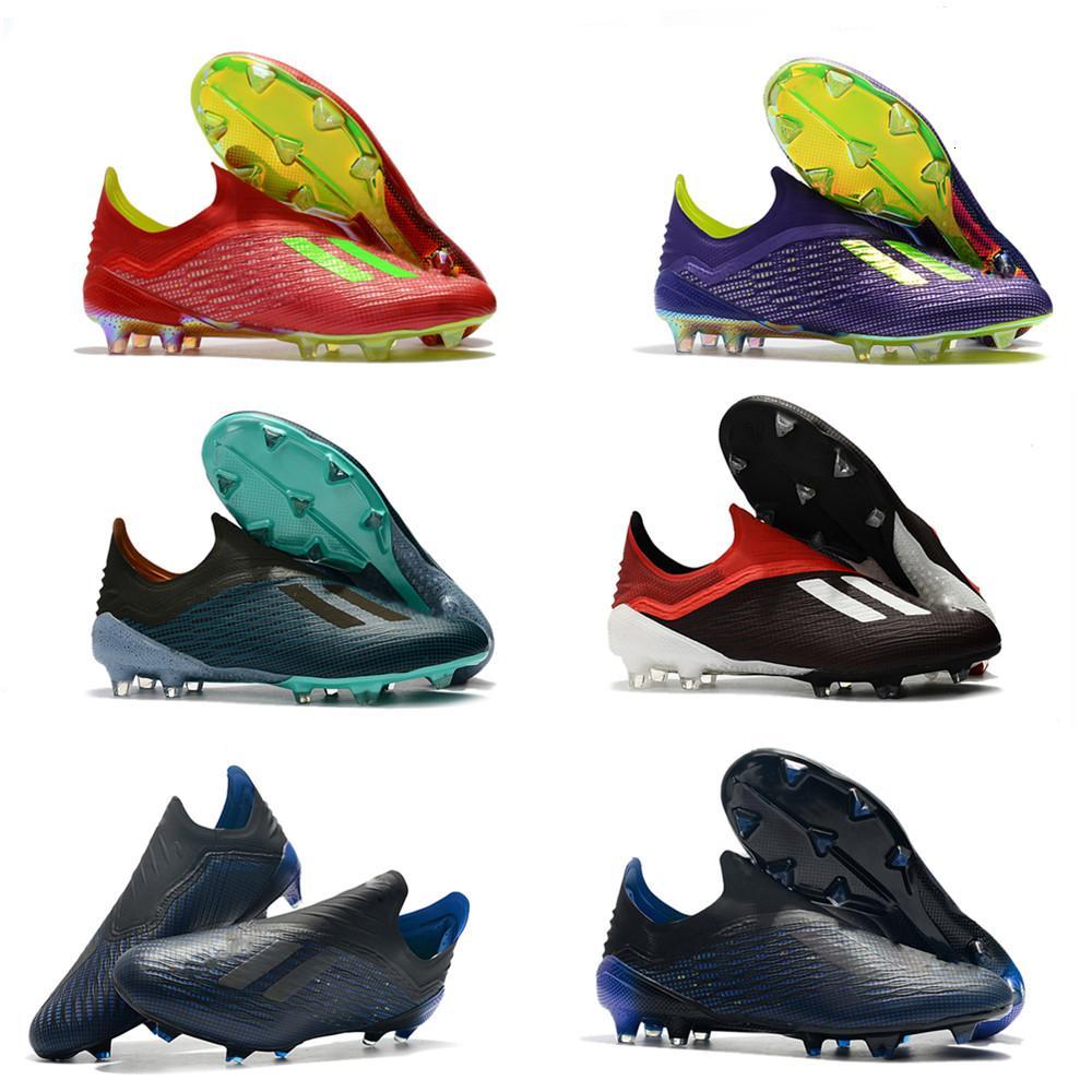Hots Sale World Cup X 18 FG Football X 18.1 FG Boots Soccer أحذية كرة القدم في الهواء الطلق المرابط