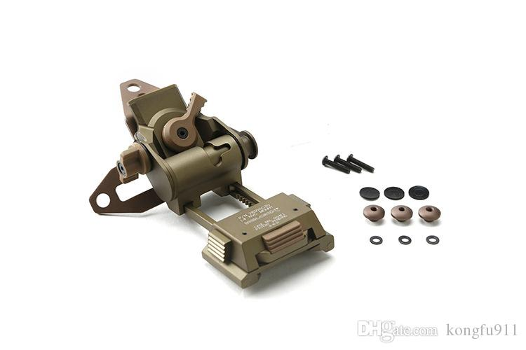 Wilcox gafas de visión nocturna stent omitir montaje de NVG del rinoceronte de visión nocturna para L4 G24 L4G30 L4G19 montaje Casco CNC OPS Fast PJ MH BJ Mich