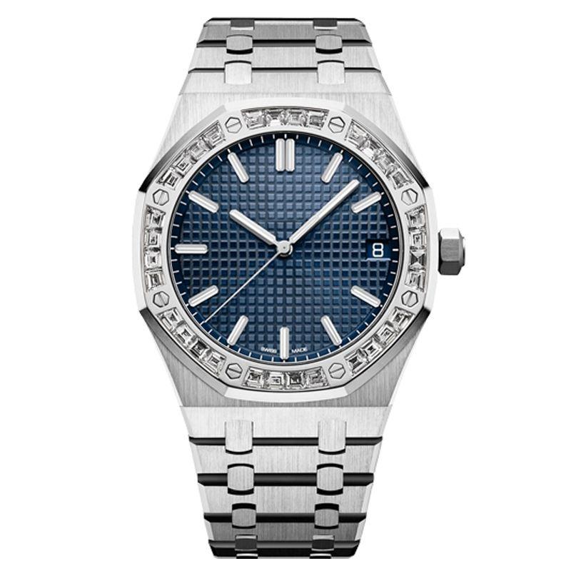 orologio di diamanti movimento meccanico automatico di alta qualità degli uomini della vigilanza tutto il nuoto in acciaio inox super luminoso zaffiro Orologio vetro U1
