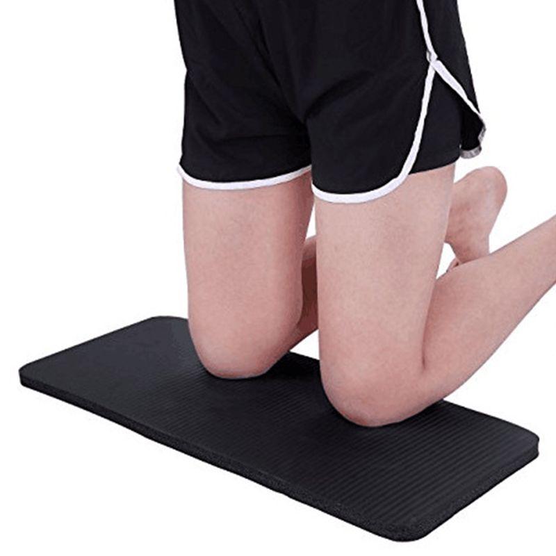 2pcs Pilates Workout Mat Grosso Yoga Knee Pad Almofada de apoio extra para os joelhos Pulsos Cotovelos