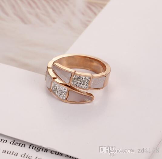 C-19 Titanium стальное кольцо Новые мужчины и женщины приграничные электронной коммерции розового золота пара аксессуары из нержавеющей стали кольца ювелирные изделия оптом