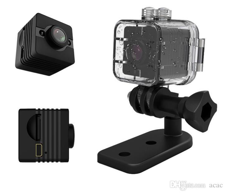 SQ12 Mini Camera HD 1080p cam Night Vision Wide Angle lens Waterproof Camcorder DV Voice Video Recorder Action