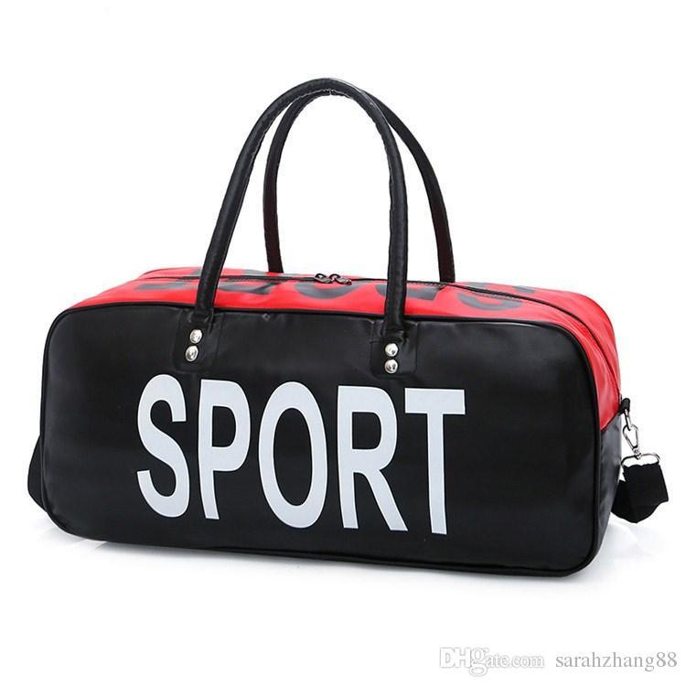 Borsa da viaggio oversize PU Weekender PU di grande capacità, borsa da portare in pelle Borsa da palestra sportiva, grande regalo per la festa del papà