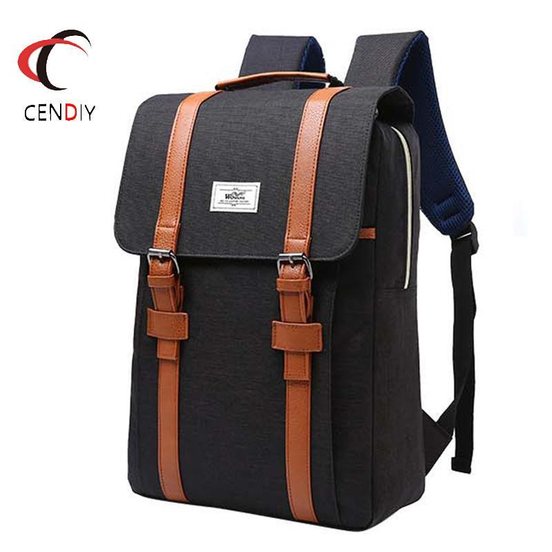 Fashion Nylon Men's Backpack For School Bag College Student Laptop Backpack Female Casual Rucksacks Travel Bag Backpack Women Y19061102