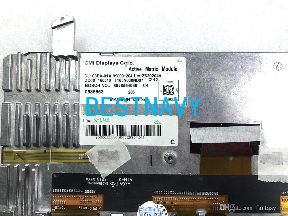 Spedizione gratuita CMI display 10.3Inch DJ103FA-01A con lo schermo di tocco capacitivo per auto Bo-sch GPS DVD Monitor LCD di navigazione