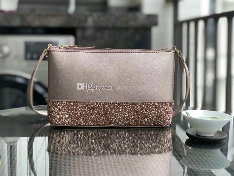 New 5 colors designer shining glitter single womens shoulder bag brand Cross Body crossbody bag for women Factory supply