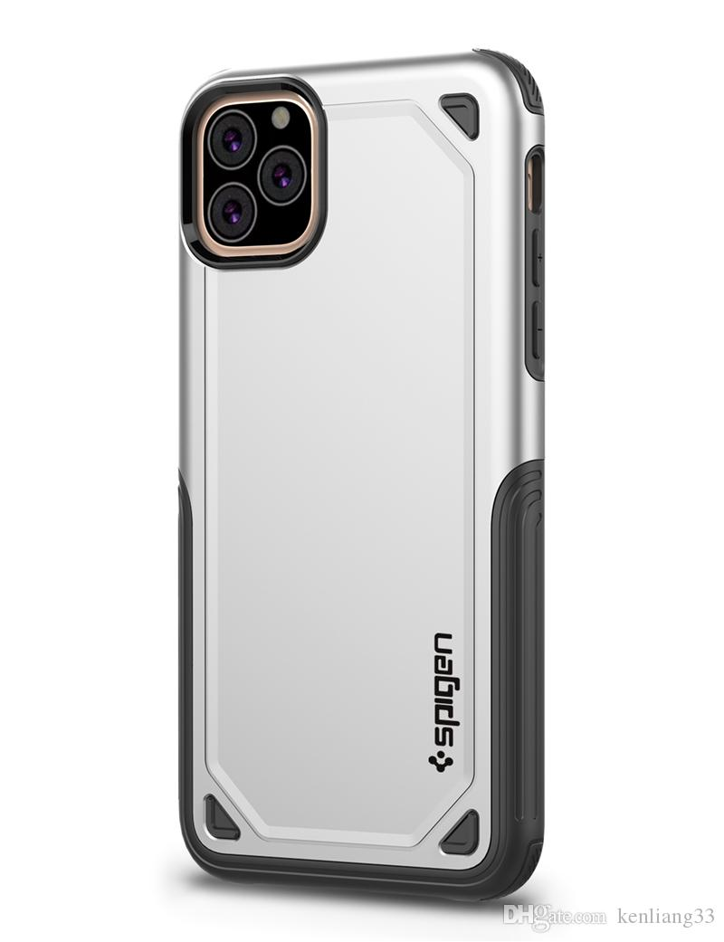 SGP spigen حالات الهاتف Hybird درع خلية مصمم لمدة 11 فون برو ماكس SE 2020 XR XS X 8 7 6S زائد 5 5S