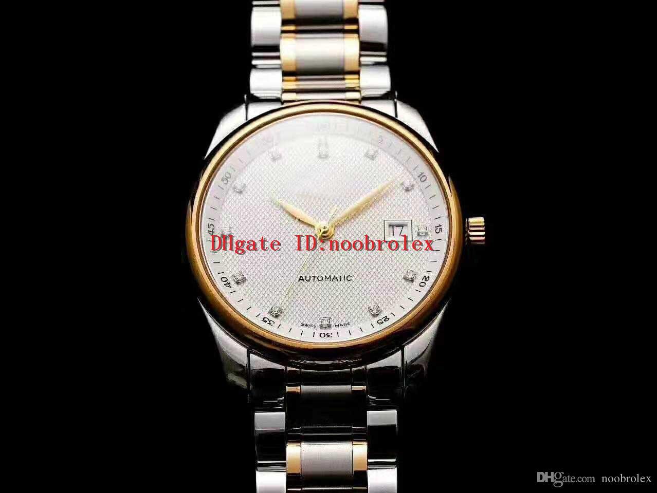 V9 Factory Master L2.793.4.71.6 Мужские часы Swiss L888 Автоматический сапфировое стекло с ЧПУ 316L из нержавеющей стали Отображение даты с бриллиантами