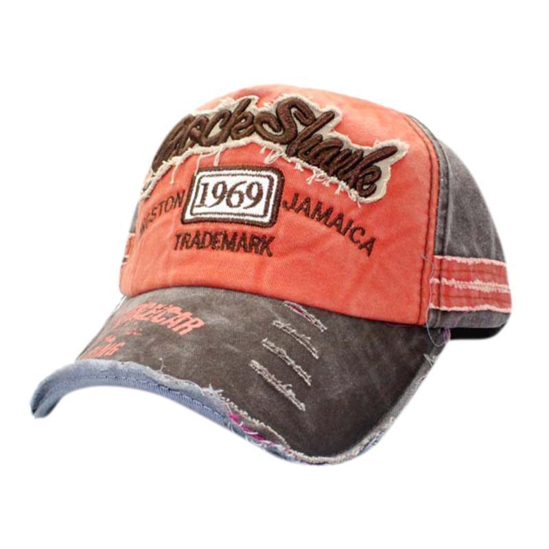 Men Women'S Unisex Vintage Baseball Cap Adjustable Denim Distressed Trucker Hat Mens Winter Baseball Caps Gentleman Z0128