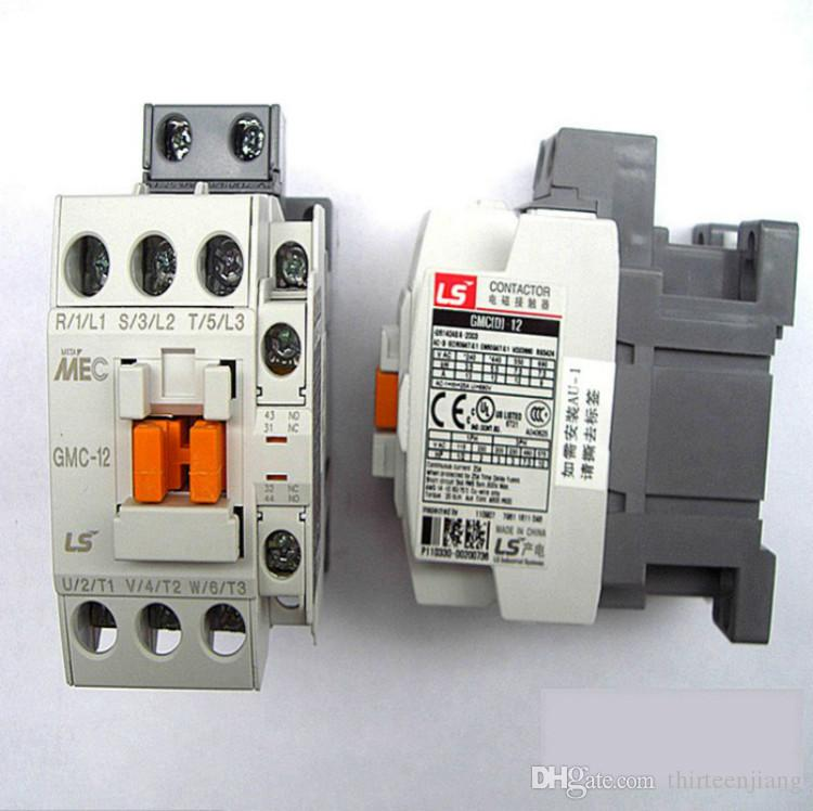 Qty 5 Per Lot Original LS power generation MEC electromagnetic AC contactor GMC-12 New In box Free Expedited Shipping